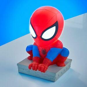 Officiel-Spiderman-Goglow-Pote-Veilleuse-amp-Torche-Chambre-Eclairage
