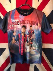 official photos 2cf5d 35250 Details about FC BARCELONA - OFFICIAL NEYMAR JR - SHIRT - (CHILD) - SEE  MEASUREMENTS
