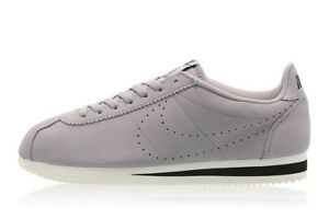 authentic official site good quality NIKE CLASSIC CORTEZ SUEDE : GREY / WHITE : AA3108 001 ...