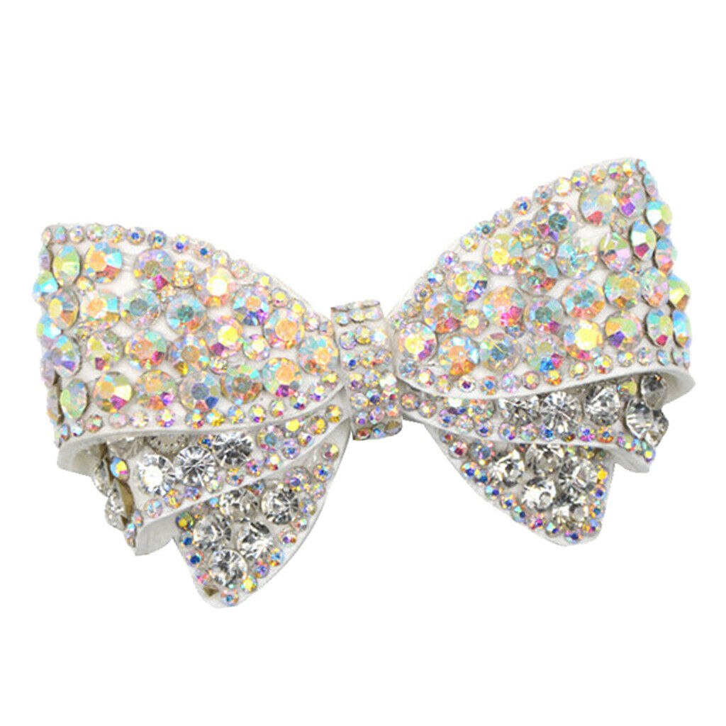 Diamante Rhinestone Shoe Clips, Bow Butterfly Shoe Charms Buckle, Removable