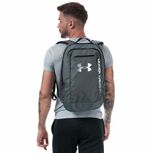 Under-Armour-Hustle-Sac-a-dos-gris-Taille-Unique