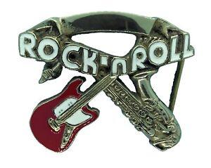 bons plans 2017 nouveau style Braderie Détails sur Rock N Roll Boucle de ceinture- afficher le titre d'origine