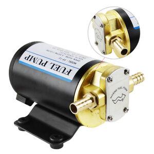 Gear-Oil-Pump-Fuel-Diesel-Biodiesel-Transfer-Scavenge-12v-DC-Heavy-Duty-Auto-Car