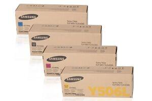 PL Neu Samsung CLT-506L CLT506L Toner Set C/Y/M/K Clp-680 Clx-6260 B