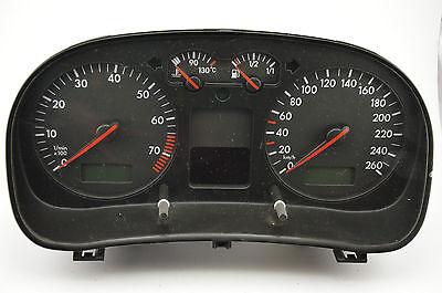 VW Golf MK4 1.6 16V LHD Tachometer Instrument Cluster With MFA 1J0920826 A