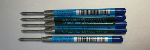 XB viscoglide Kugelschreiber Mine 4 Farben Schneider Großraummine Slider 755 M
