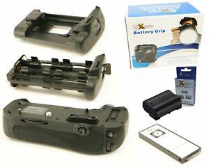 Ex-Pro-Power-Grip-KIT-MB-D12-1-x-EN-EL15-for-Nikon-D800-D800E-IR-Remote