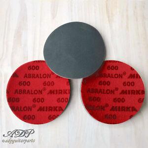 3-x-SANDING-DISC-600-150mm-ABRASIVE-ABRALON-MIRKA-MOUSSE-EGRENAGE-POLISSAGE