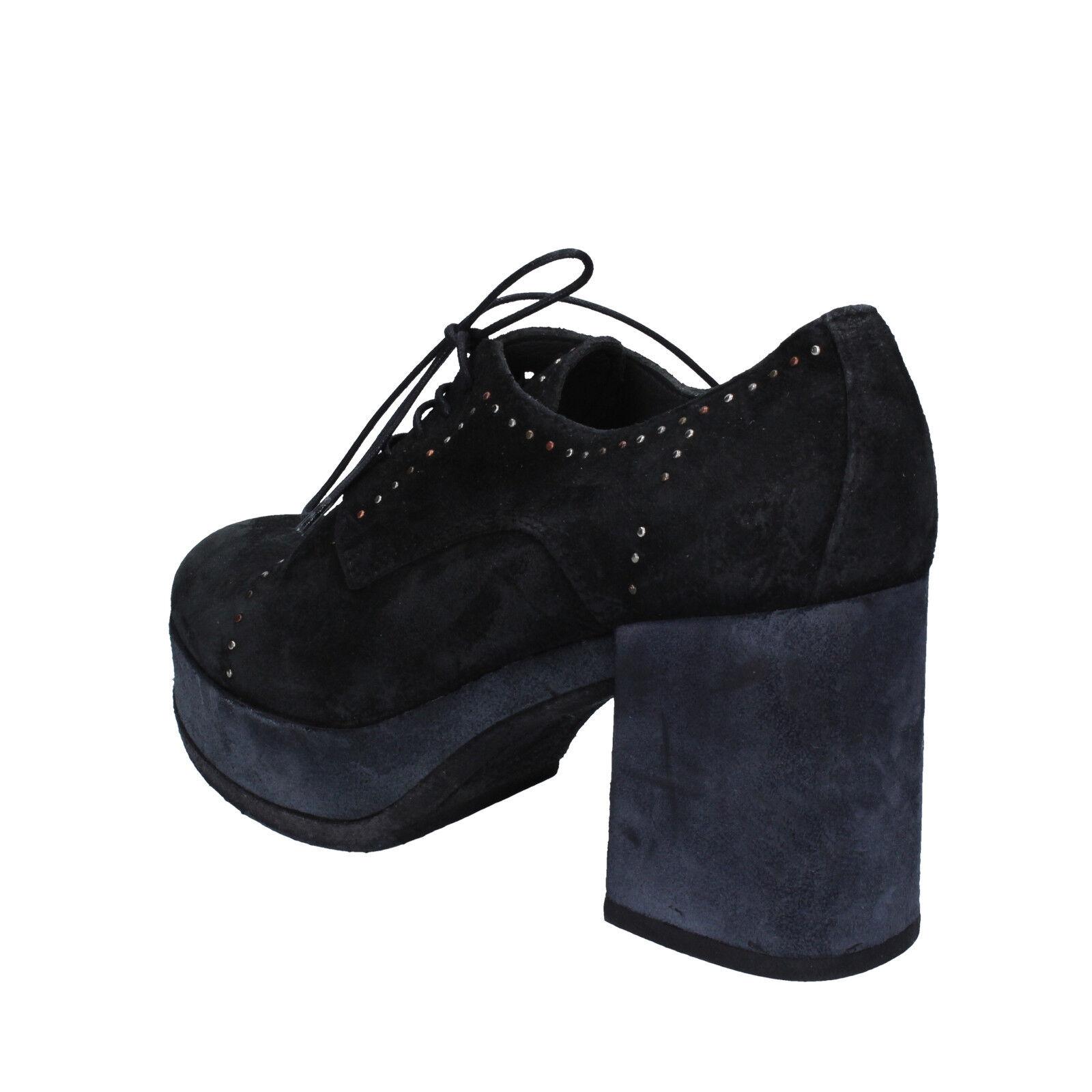 Scarpe donna donna donna MOMA 37 EU tronchetti nero camoscio BX08-37 | Adatto per il colore  | Uomini/Donna Scarpa  33e5c7
