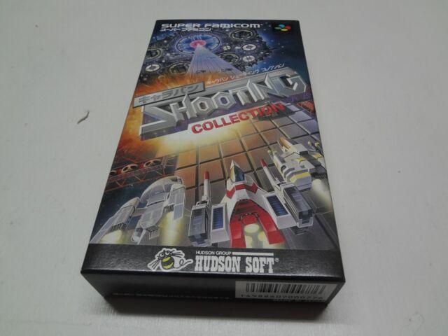 Caravan Shooting Collection Nintendo Super Famicom Japan NEW