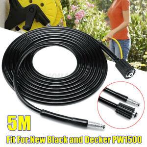 5M-Hochdruckreiniger-Schlauch-Rohrreinigungsschlauch-Fuer-Black-amp-Decker