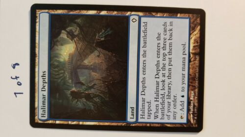 MTG Halimar Depths Worldwake Near Mint