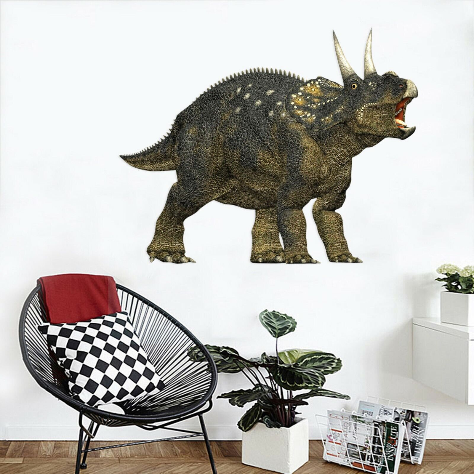 3D Dinosaur O33 Animal Wallpaper Mural Poster Wall Stickers Decal Angelia