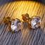 Men-Square-Round-Solitaire-Hip-Hop-Gold-Diamond-Screw-Back-Stud-Earrings-8-6-4mm thumbnail 6
