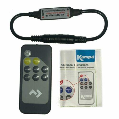 "Kampa Dometic Sabre Lights Spare Remote Control /& Sync Lead /""GENUINE KAMPA/"""
