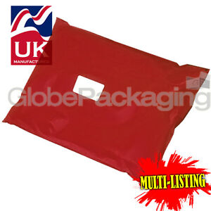 STRONG-RED-POSTAL-PLASTIC-POSTAGE-POLY-MAILING-BAGS-MAILERS-ALL-SIZES-QTY-039-S