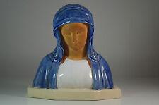 Donatello Buste Ancien Vierge Céramique Terre Cuite Virgin Vergine Sculpture