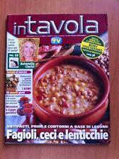 Rivista IN TAVOLA - SORRISI E CANZONI TV - N. 87 Dicembre 2005 Ricette con foto