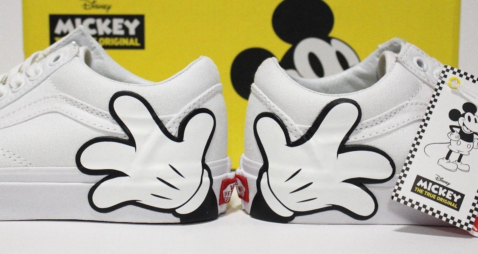 Vans X Disney Old Skool Mickey Mickey Mickey True bianca Donna  Dimensione 5 () (EUR 34.5) 26e08c