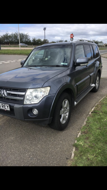 2007 MITSUBISHI SHOGUN MK4 3.2 DID ELEGANCE AUTOMATIC BREAKING FOR 1 X WHEEL NUT