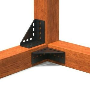 4 mm schwerlast Balkenverbinder Carport Kopfband Eckwinkel Winkelverbinder