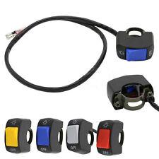 """1X7/8"""" Motorcycle Switch ON OFF Handlebar Adjustable Mount Waterproof Switche u&"""