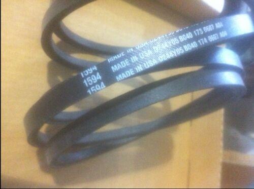 """1594 Toro Wheelhorse   Belt is 107.38/"""" long  V-BELT Wheel Horse OEM Dealer new!"""