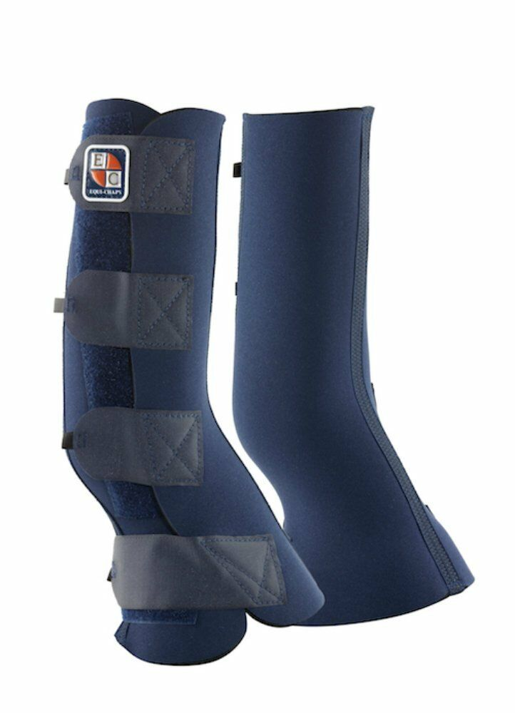 Equilibrium Equi-Chaps Hardy Chaps Navy bluee in Various Sizes for horses