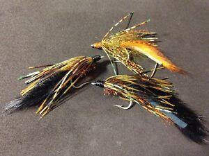 Hot Item! Sold per 6 Size 1//0 Bass Craw Crawler Chartreuse//Black