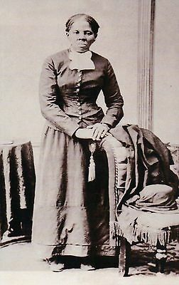 Harriet Tubman, Slave, Union Army Nurse, Underground Railroad Civil War Postcard
