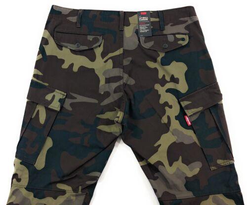 Details about  /Levis Premium Lo Ball Cargo Pants Mens Camo Phalarope Wonderknit Slim Tapered
