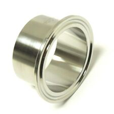 Sanitary 3 304 Stainless Long Weld Ferrule Clamp End Dairy Tri Clover Ltsan036