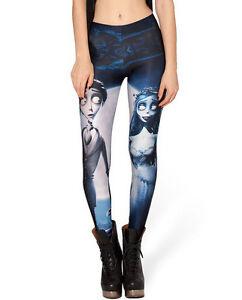 image is loading black nightmare before christmas women stockings printed leggings - Nightmare Before Christmas Leggings