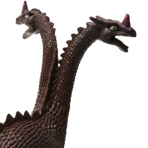 Lifelike Double-headed Dinosaur Figures Animal Model Kids Toy