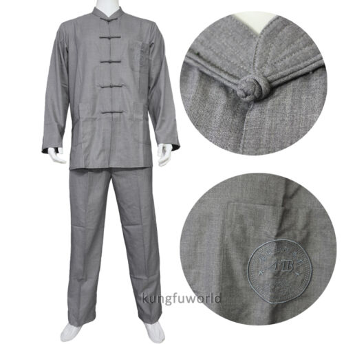 High Quality Buddhism Monk Meditation Suit Casual Kung fu Martial arts Uniforms