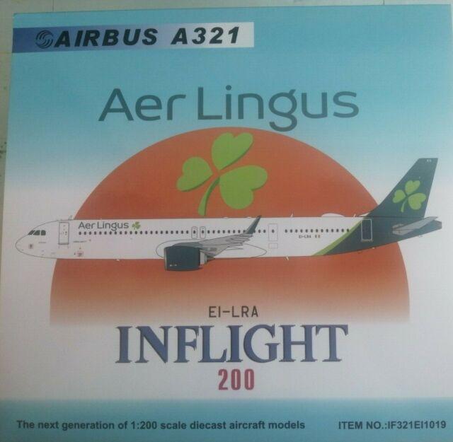 Inflight 200 if321ei1019 1//200 Aer Lingus a321-253nx huevo-lra /& Herpa Wings catálogo
