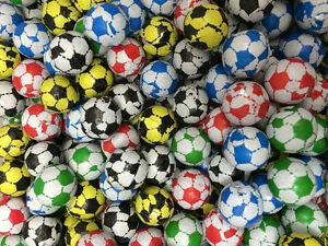 d2d7b9b43aea Image is loading CHOCOLATE-FOIL-FOOTBALL-MIXED-COLOURS-WRAPPED-SPORTS-CHOOSE -