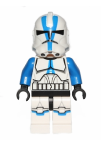 Lego 501st Legion Clone Trooper 75002 75004 Star Wars Minifigure
