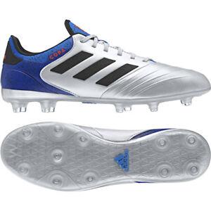 sports shoes 58dd4 748dc Image is loading adidas-Copa-18-2-FG-Silver-Mettalic-DB2443-