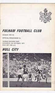 FULHAM-V-HULL-CITY-2ND-DIVISION-9-10-71
