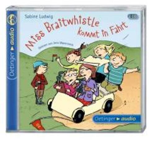 1 von 1 - + Ludwig : Miss Braitwhistle kommt in Fahrt 2er CD HörBuch NEU