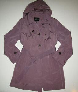 London Fog Womens Aurora Purple Jacket Trench Coat Nwt Size Xxl 2xl 709545414968 Ebay