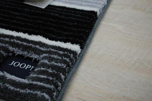 Badematte Badteppich 286 Lines 69 Anthrazit 60x90 cm JOOP