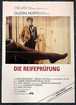 100% QualitäT Die Reifeprüfung 1967 - Dustin Hoffman - Bancroft A1 Film Poster Plakat (m-7631+