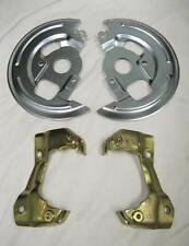 1964-1972 GM A Body Disc Brake Caliper Brackets + Backing Plates Dust Shields
