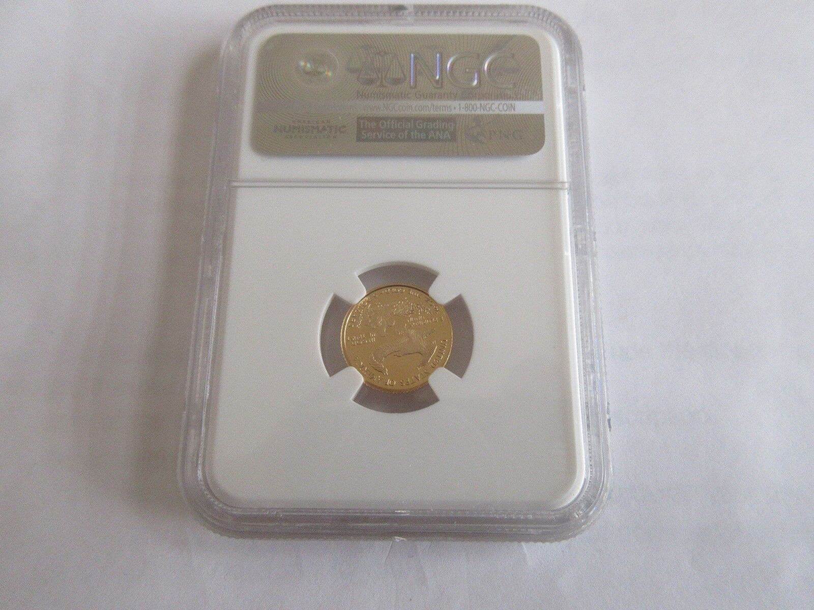 2006 W Gold Eagle G$5 NGC PF 70 Ultra Cameo