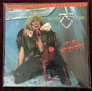 TWISTED SISTER VINYL stay hungry LP MOFI Ltd #1248/3000 SEALED Original Master