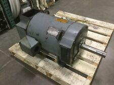Ge Cd328at Kinamatic Dc Shunt Motor 40hp 500vdc 17502100rpm Field 150300vdc