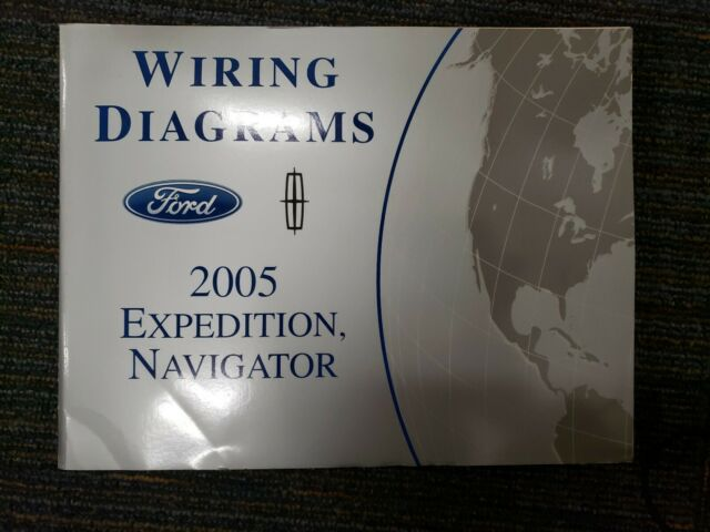 2005 Ford Expedition Lincoln Navigator Factory Wiring
