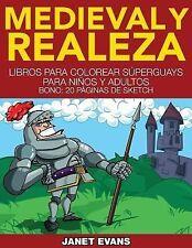 Medieval y Realeza : Libros para Colorear Superguays para Ninos y Adultos...